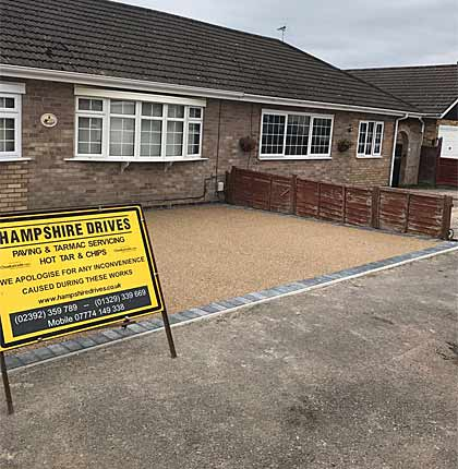 About the Company Hampshire Driveways
